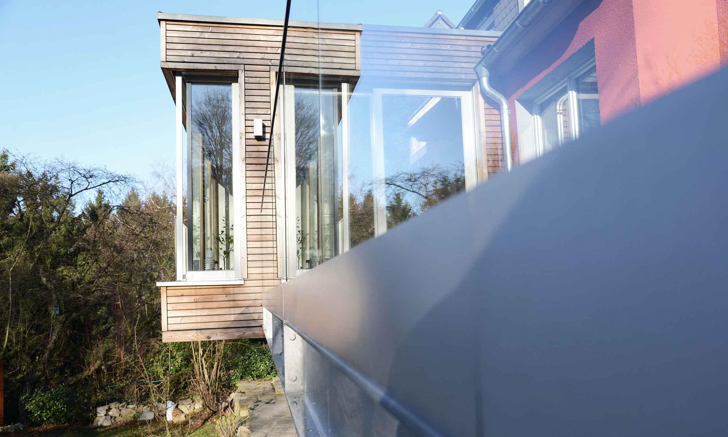 Terrassen Verglasung